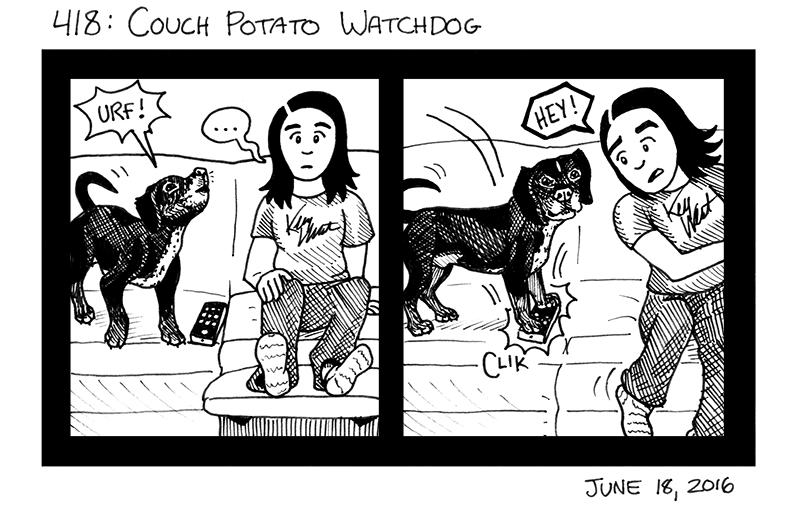 Couch Potato Watchdog