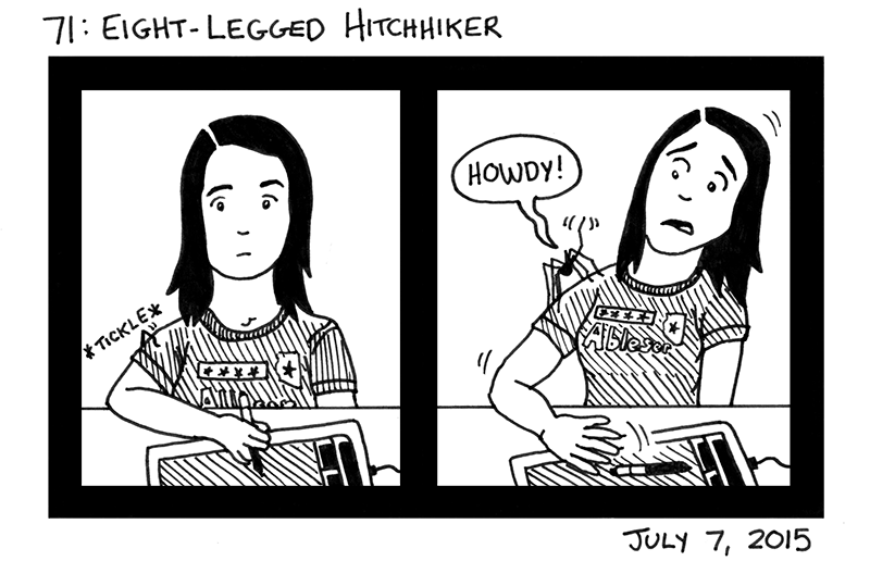 Eight-Legged Hitchhiker