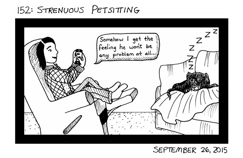 Strenuous Petsitting